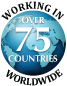 Working in 75 Countries