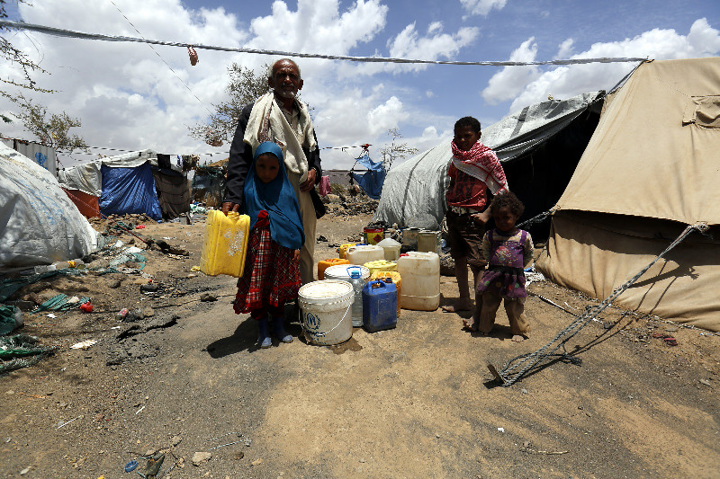 Almost 3 million Yemenis have been displaced by the almost three-year long war which began in March 2015
