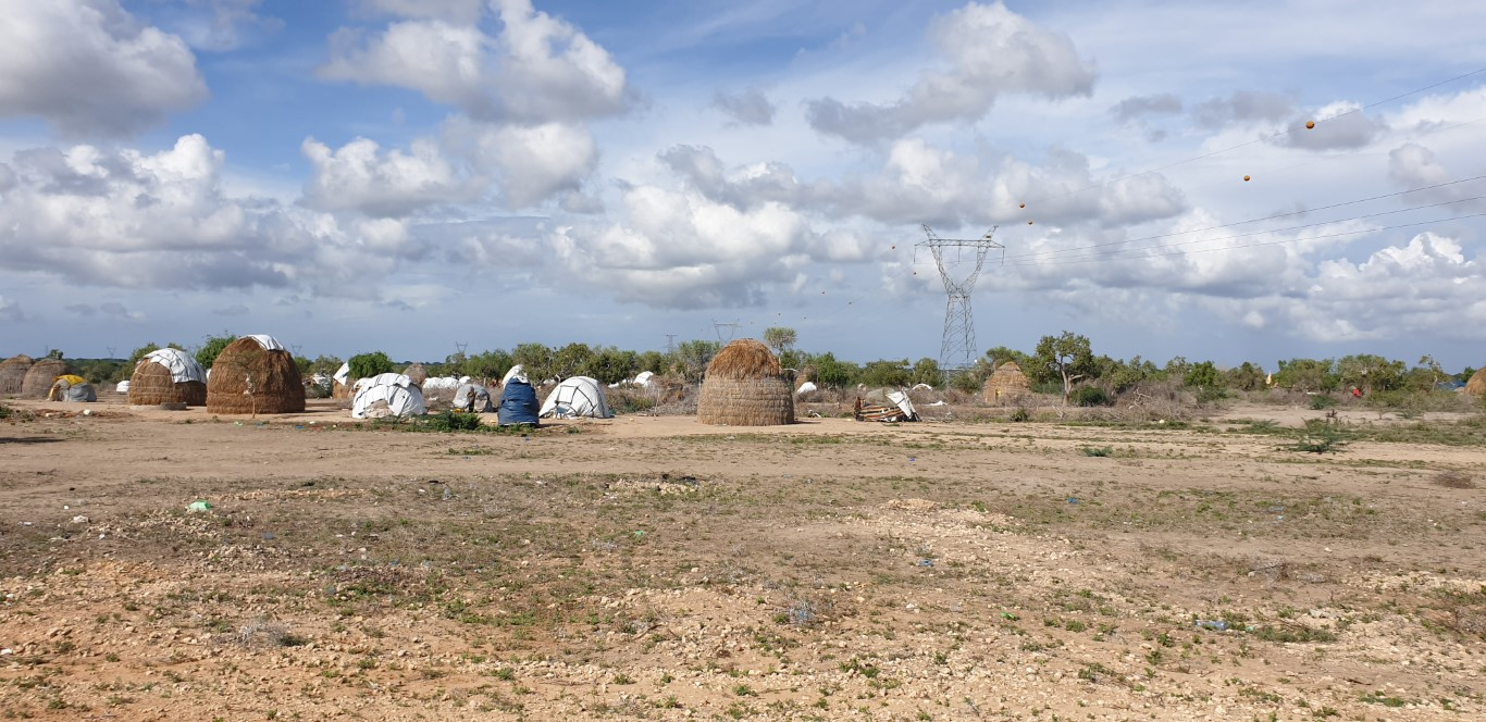 The first Sahaba village is being built in the Minjila area in Kenya's neglected Tana River county for a community that was displaced by floods over a year ago