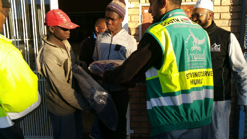 Typical response interventions include the distribution of blankets, mattresses, hygiene packs and other essentials