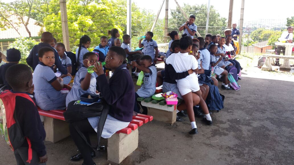 50 learners at Phoenix Heights Primary kicked of the month of February with new school bags, lunch tins and stationery packs courtesy of Al-Imdaad Foundation's Durban teams