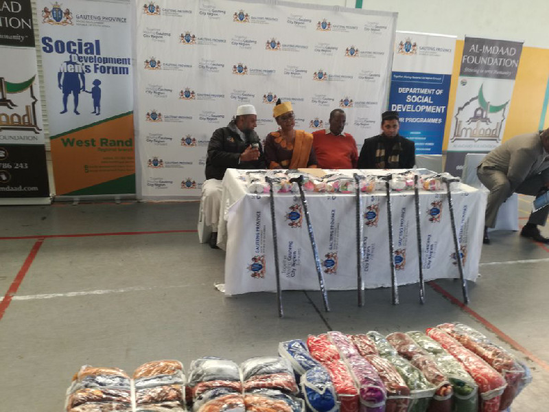 In Gauteng the teams partnered with MEC for Social Development, Nandi Mayathula Khoza for the launch of the campaign in Ekurhuleni Metro