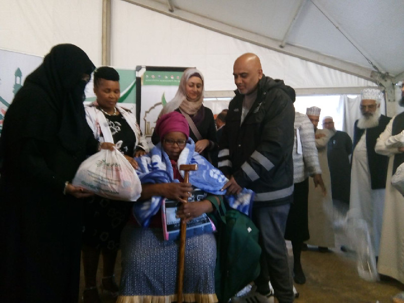 One of the interventions that took place in KwaZulu-Natal in partnership with Madrasah An-Nur for the blind also saw the presence of Deputy Minister of Home Affairs, Mrs Fathima Chohan