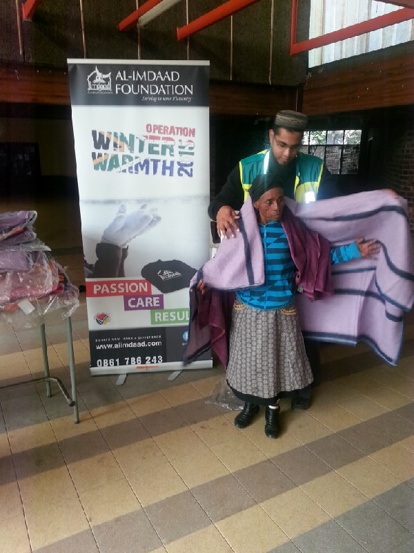 OWW 2015 Blanket Distribution in Ermelo