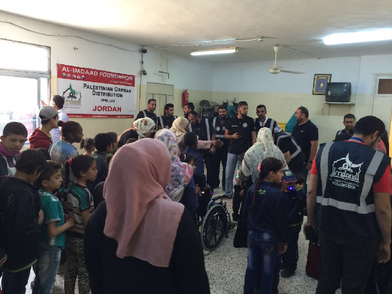 The Jordanian office has been conducting orphan support programmes since inception almost 12 years ago