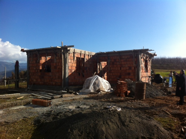 Al-Imdaad Foundation in Partnership with Rahma Mercy, builds homes for the impoverished people of Albania.